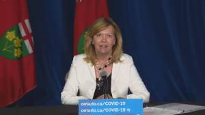 COVID-19: More than half of Ontarians are double-vaxxed, health minister says (00:52)