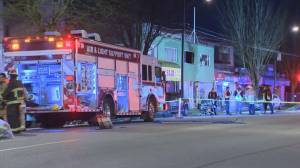 One person is dead following Vancouver apartment fire on Kingsway (00:30)
