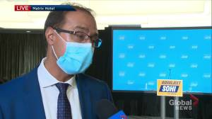 Edmonton mayor-elect Amarjeet Sohi promises to work hard for citizens (02:45)