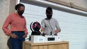 Saskatoon teens reusing plastic pop bottles for 3D printer filament (02:00)