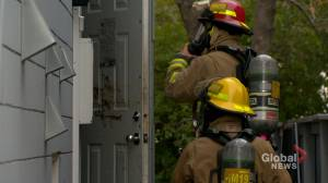 Arson suspected in fire at Calgary Boys and Girls Club apartment building