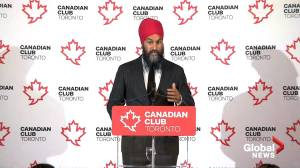 Federal Election 2019: Jagmeet Singh lays out his big picture vision for Canada