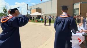 Saskatoon high school students embrace unique graduation ceremonies