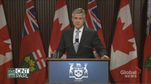 Ontario government projecting budget deficit to jump to $38.5 billion due to COVID-19