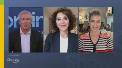 Checking in with Andrea Martin | Watch News Videos Online