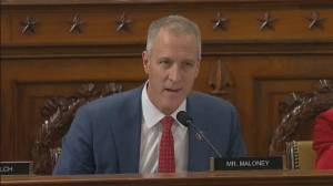 Trump impeachment hearings: Congressmen Maloney presses Sondland on who benefited from Biden investigation