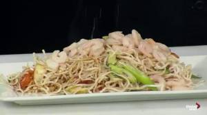 Green Bean Java Bistro showcases Thai salad