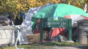 Shooting of woman boosts calls for action on Oppenheimer Park tent city