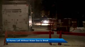 Extreme cold causes water main breaks throughout Calgary (01:52)