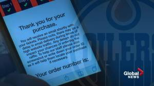 Edmonton Oilers 50/50 fever fuels a season of charitable donations (02:01)