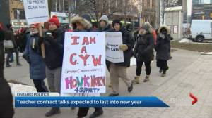 Some Ontario high school teachers walk out for 3rd Wednesday in as many weeks