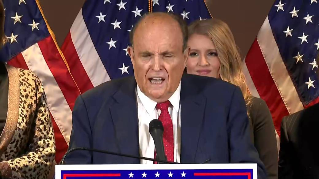 Click to play video 'U.S. election: Rudy Giuliani cites 'My Cousin Vinny' to explain Trump's legal challenge, busts out momentary Joe Pesci impersonation'