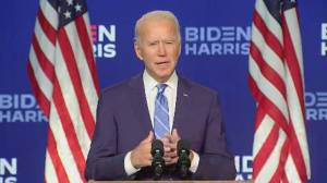 America Votes: What a Biden presidency would mean for Canada (01:38)