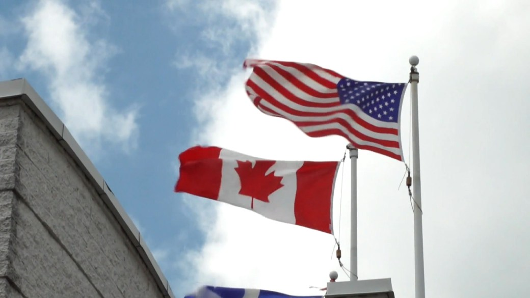 Click to play video: 'United States renews border restrictions for Canada, Mexico until Aug. 21'