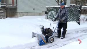 Snow storms prompts closures across New Brunswick (01:56)