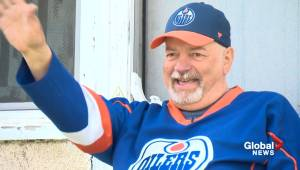 Friendly neighbour bringing joy to Edmonton community