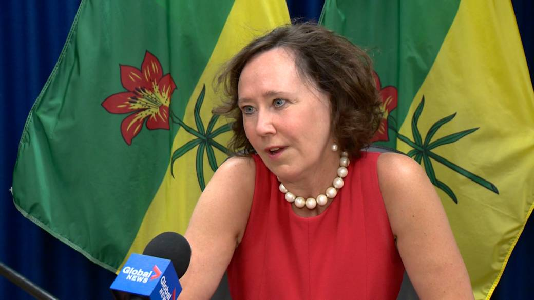 Click to play video: 'Saskatchewan Energy Minister on Licensee Liability Rating Program'