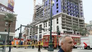 New Orleans building collapse cause remains unclear, possibility of further collapse remains
