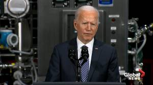 'Vaccines are safe, please take the vaccine' says Biden while providing update on rollout (05:34)