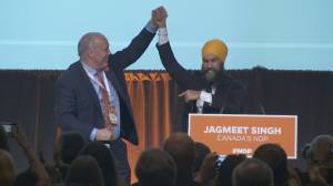 NDP leader Jagmeet Singh and B.C. premier take centre stage at party convention