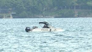 Search continues for missing man in the water near Brockville (00:42)