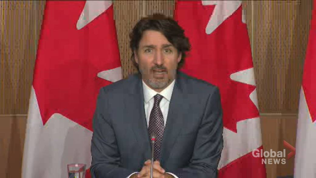 Click to play video: '75% of Canadians will get 1st shot of COVID-19 vaccine this summer: Trudeau'