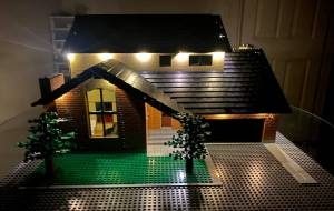 Regina man makes replica homes out of Lego (03:50)