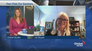 Pen Pals program for seniors (04:21)