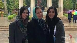 Iran plane crash: Saba and Sara Saadat, Shekoufeh Choupannejad remembered as kind and generous family (04:52)