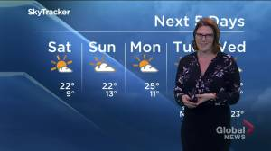 Details on your long weekend forecast