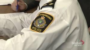 Peterborough city council discusses police service's budget (01:50)
