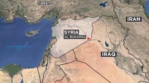 Biden orders airstrikes against Iranian-backed militias in Syria (01:33)