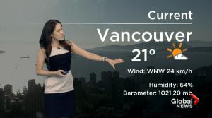 B.C. evening weather forecast: Aug 26