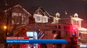 Calgary Fire Department responds to house fire in Silverado (02:01)