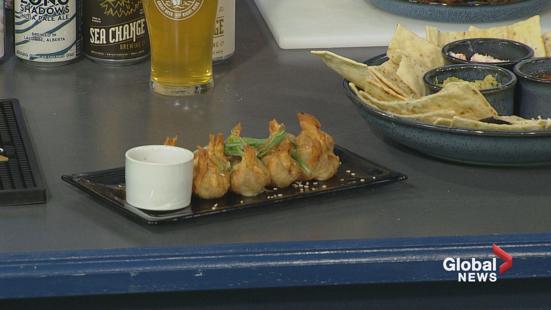 In the Global Edmonton Kitchen with Twin Otter Pub
