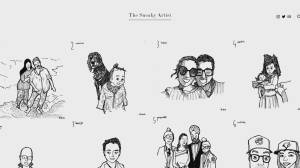 Vancouver 'sneaky artist' sketches '100 Faces for India' (01:36)