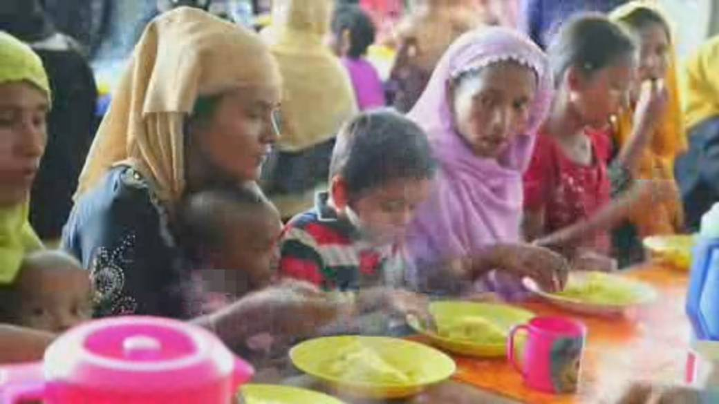 Click to play video 'UN World Food Programme wins Nobel Peace Prize'