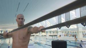 Swimmer Brent Hayden sprints to 4th Olympics (01:48)