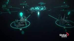 Alberta company creates synthetic cities to help model the future (01:48)