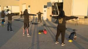 Outdoor group fitness begins in grey lockdown zones Toronto, Peel (02:34)