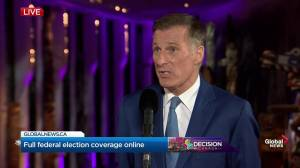 Leaders' Debate: Asked about flooding in Quebec and Ontario, Bernier says that's 'weather' not 'climate'