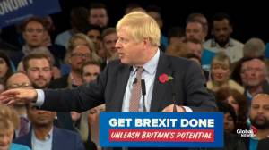 Boris Johnson claims he doesn't think Jeremy Corbyn knows own stance on Brexit