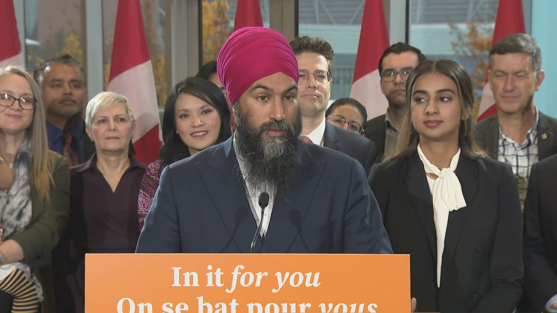 Federal Election 2019: 'I don't really have any regrets' Singh says about campaign as election day nears