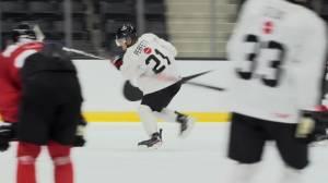 Durham hockey players chase world junior gold (02:00)