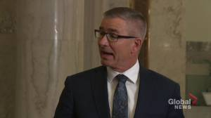 Finance minister comments on Alberta layoffs