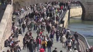 Some European countries ramp up restrictions amid third wave (02:33)