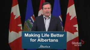 Premier Kenney says Edmonton 'safest place in the continent' to host NHL playoffs (02:35)