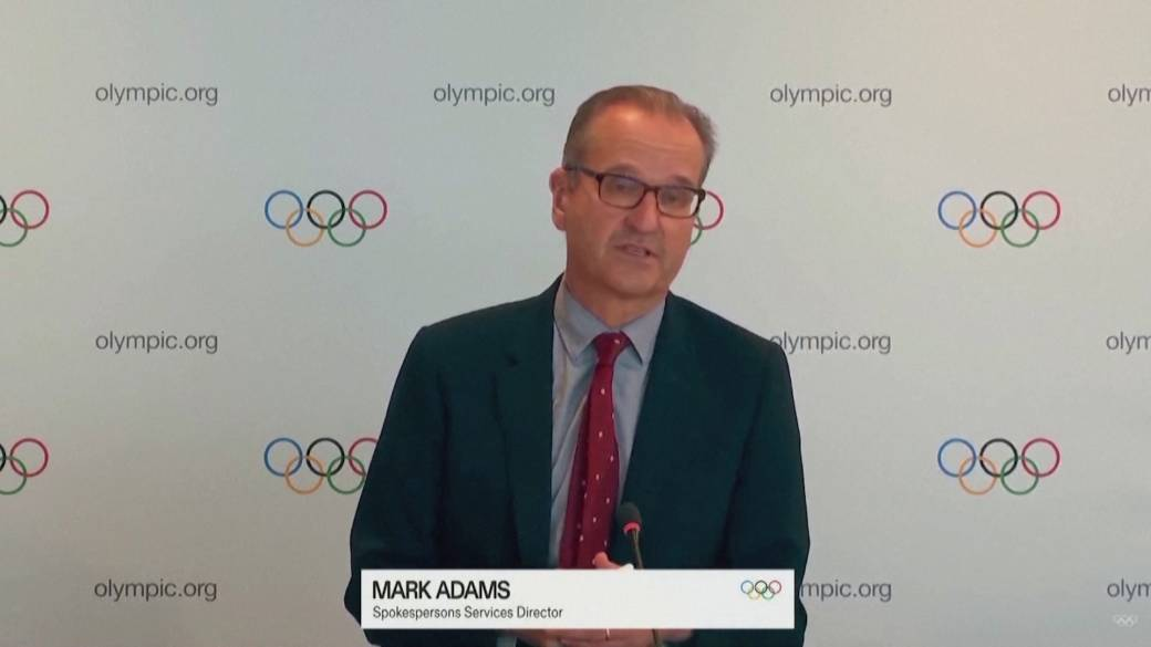 Click to play video: 'No thoughts of cancelling Olympics despite Japan's rise in COVID-19 cases: IOC'