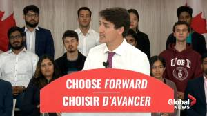 "Federal Election 2019: Trudeau unveils Liberal Party platform ""to move Canada forward for everyone"""