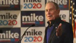 Billionaire Mike Bloomberg surges in Democratic presidential race